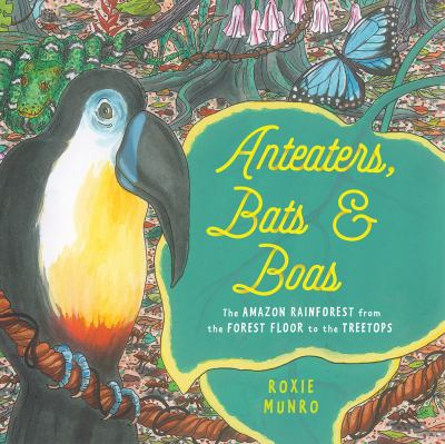Anteaters, bats, and boas : the Amazon rainforest from the treetops to the forest floor
