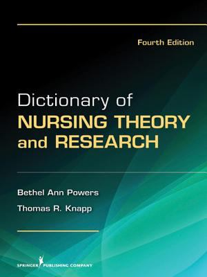 Book jacket for Dictionary of Nursing Theory and Research