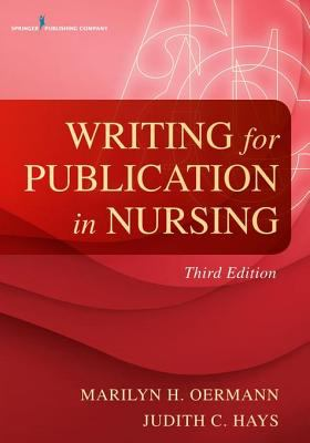Cover of book: Writing for Publication in Nursing
