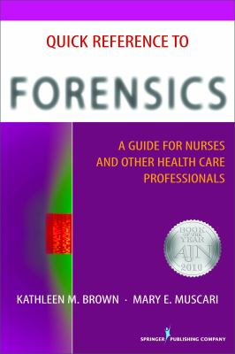 Quick Reference to Adult and Older Adult Forensics
