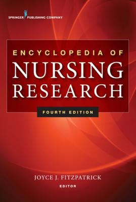 Book jacket for Encyclopedia of Nursing Research