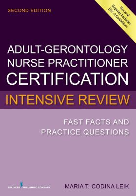 Book Cover for Adult-Gerontology Nurse Practitioner Certification Intensive Review