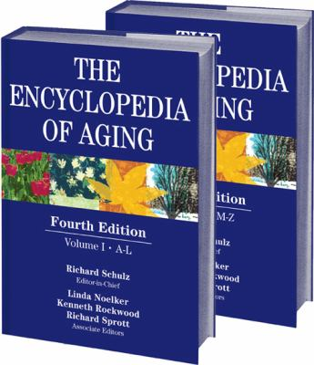 Book jacket for Encyclopedia of Aging