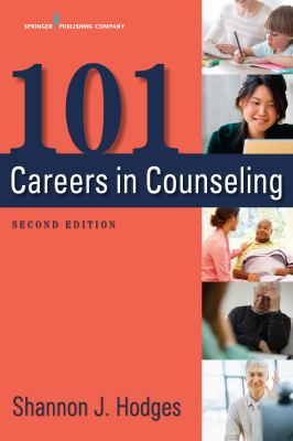 cover of 101 Careers in Counseling