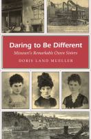 Book cover for Daring to Be Different
