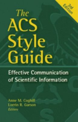 The American Chemical Society Style Guide