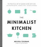 Book cover: The Minimalist Kitchen