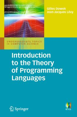 book cover: Introduction to the Theory of Programming Languages