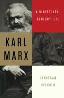 Book cover for Karl Marx: a nineteenth-century life