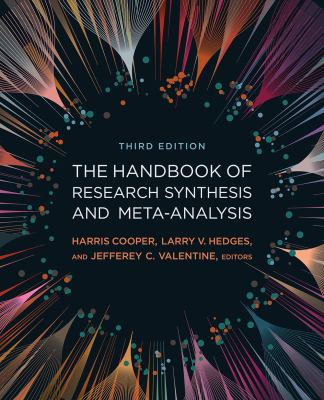 Handbook of Research Synthesis and Meta-Analysis