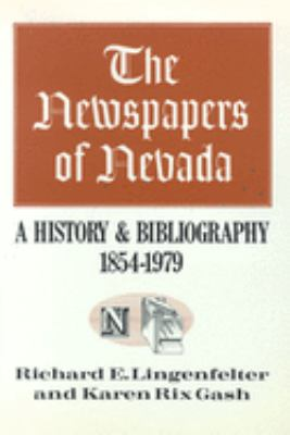 Cover image of The Newspapers of Nevada