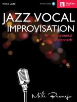 Jazz Vocal Improvision: An Instrumental Approach by Mili Bernejo