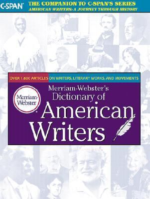Cover Art for Merriam-Webster's Dictionary of American Writers