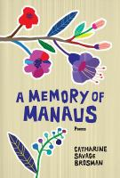 A memory of manaus : poems cover image