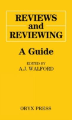 Cover of Reviews and Reviewing