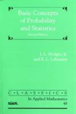 book cover: Basic Concepts of Probability and Statistics