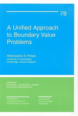 book cover: A unified approach to boundary value problems