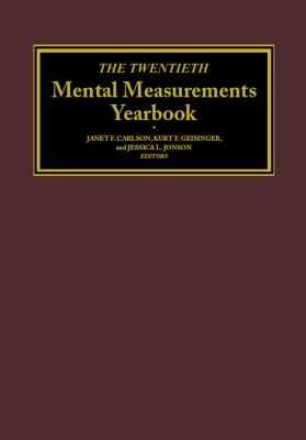 The Twentieth Mental Measurements Yearbook Cover