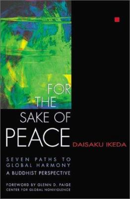 Ikeda For the Sake of Peace cover art