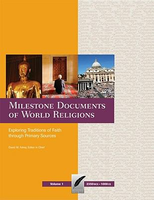 Cover of Milestone Documents of World Religions