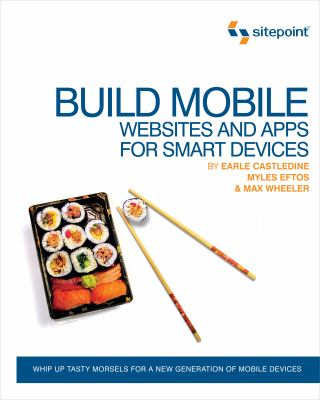 book cover: Build Mobile Websites and Apps for Smart Devices