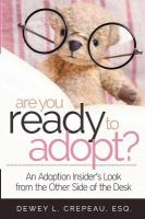 book cover for Are You Ready to Adopt?