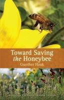Toward Saving the Honeybee book cover