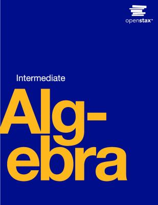 Book Cover: Intermediate Algebra