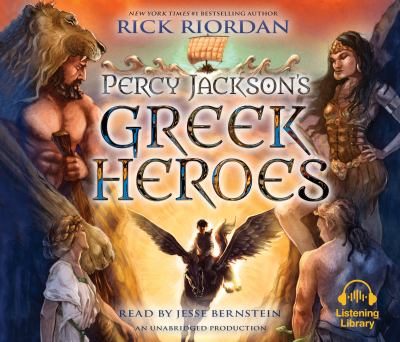 Cover art for Percy Jackson's Greek Heroes
