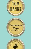 Uncommon Type book cover