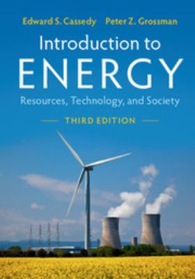 Cover Art for introduction to energy by Edward S. Cassedy; Peter Z. Grossman