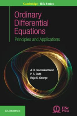 book cover - Ordinary Differential Equations : principles and applications