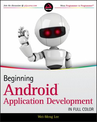 book cover: Beginning Android Application Development