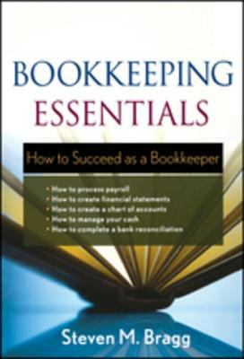 Cover Art for Bookkeeping Essentials by Steven M. Bragg