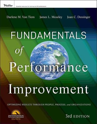 Book jacket for Fundamentals of Performance Improvement