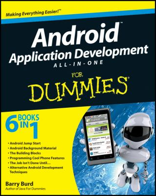 book cover: Android Application Development All-in-One for Dummies®