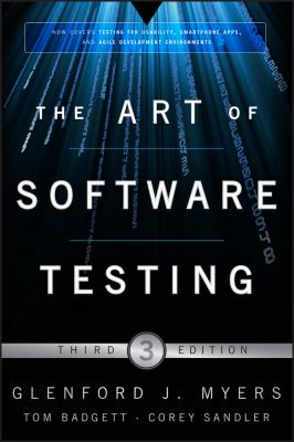 book cover: The Art of Software Testing