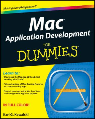 book cover:  Mac Application Development for Dummies