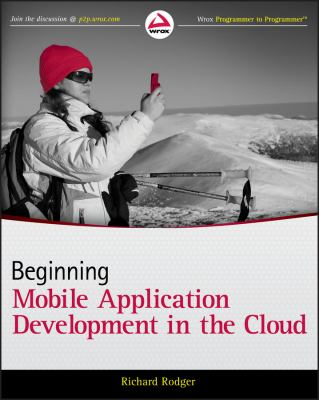book cover: Beginning Mobile Application Development in the Cloud