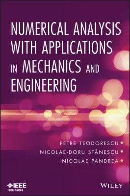 book cover: Numerical Analysis with Applications in Mechanics and Engineering