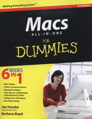 Macs All-in-One for Dummies Cover Art
