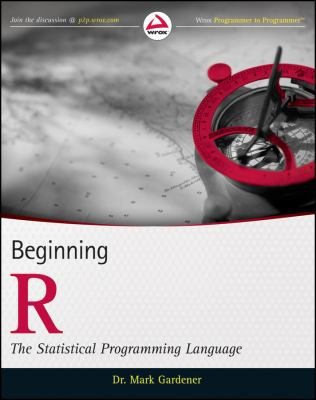 book cover: Beginning R : the statistical programming language