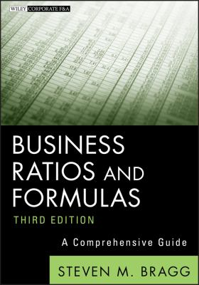 Front cover art for the book Business Ratios and Formulas by Steven M. Bragg.