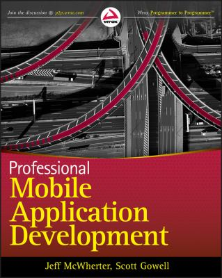 book cover: Professional Mobile Application Development