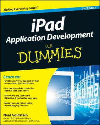 book cover: iPad Application Development for Dummies