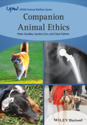 Book cover of Companion Animal Ethics - click to open in a new indow