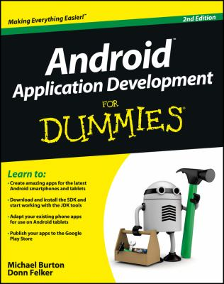 book cover: Android Application Development for Dummies