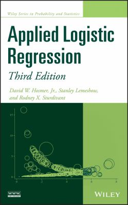book cover: Applied Logistic Regression