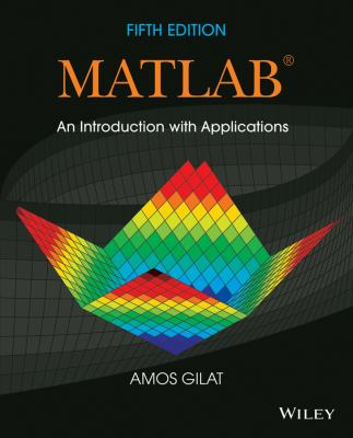 book cover: MATLAB : an introduction with applications