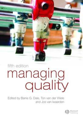 Book jacket for Managing Quality